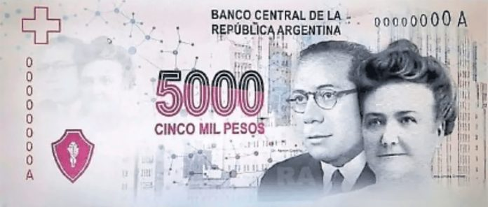Latin America Intelligence - Argentina 5000 note